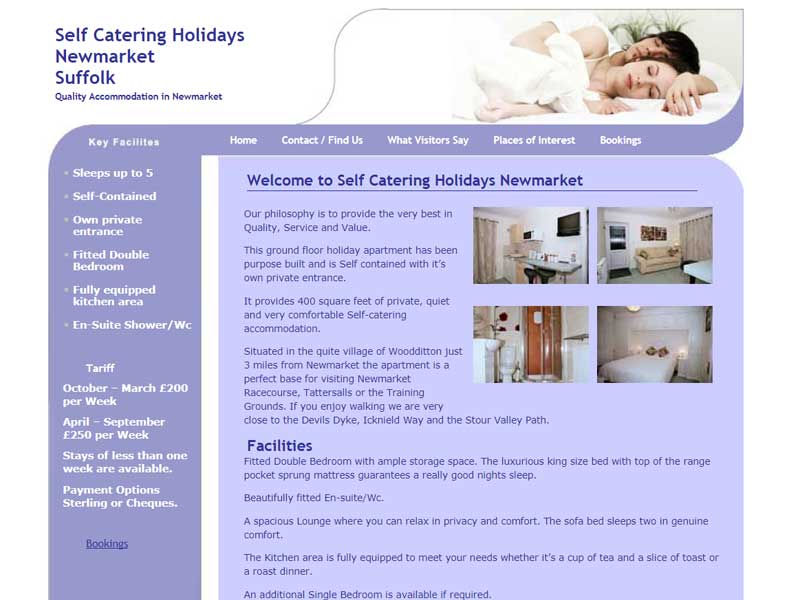 Self Catering Holidays Newmarket