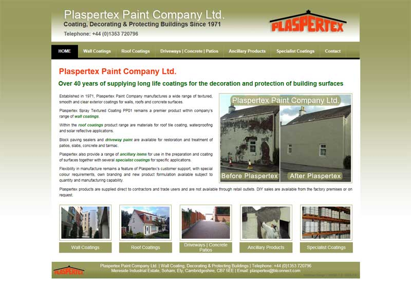 Plaspertex Paint