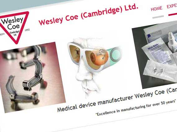 Wesley Coe (Cambridge) Ltd